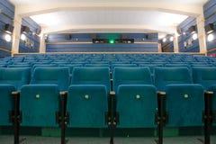 Empty cinema interior Stock Images