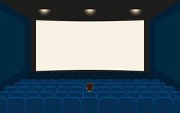 Empty cinema Stock Photo