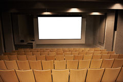 Empty cinema Royalty Free Stock Photography