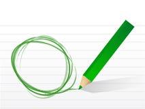 Empty circle illustration design Royalty Free Stock Image