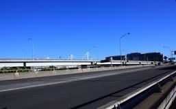 Empty City Feeway Stock Images