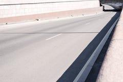Empty city road Stock Images