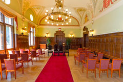 Empty civil wedding house. In Gdansk, Poland Stock Photo