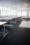 Empty class room Stock Images