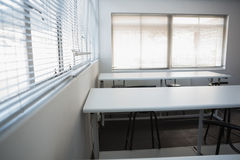 Empty class room Stock Photo