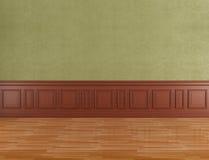 Empty classic interior Stock Image