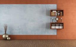 Empty classic room Stock Image