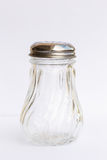 Empty classic shakers glass bottle Royalty Free Stock Images