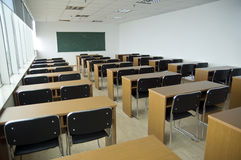 Empty Classroom. For cub students in china Stock Photos