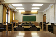 Empty classroom 2 Stock Photos