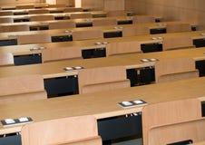 Empty Classroom. An empty classroom at a university Royalty Free Stock Image