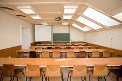 Empty classroom Royalty Free Stock Photo