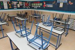 Empty classroom Stock Photo