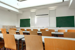 Empty classroom Royalty Free Stock Images