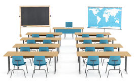 Klassenzimmer clipart  Empty Classroom Blackboard Desk Stock Illustrations – 703 Empty ...