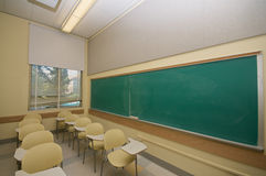 Empty Classrooms in college Royalty Free Stock Photography