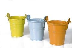 Empty clay pot Stock Photo