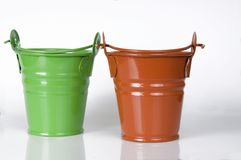 Empty clay pot Royalty Free Stock Image