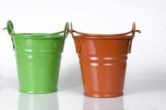 Empty clay pot Royalty Free Stock Image