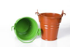 Empty clay pot Stock Image