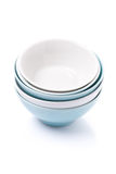 Empty clean bowl, isolated Stock Image