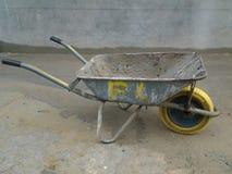Construction site wheel barrow Royalty Free Stock Photos