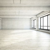 Empty clean loft Royalty Free Stock Images