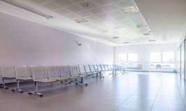 Empty and clean waiting room. In a Hospital royalty free stock photography