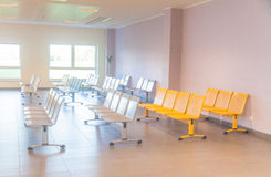 Empty and clean waiting room Royalty Free Stock Photo