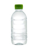 Empty and clear drinking water bottle Royalty Free Stock Photos