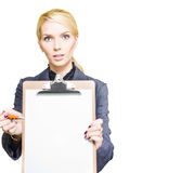 Empty Clip Board Royalty Free Stock Image