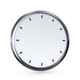 Empty clock Royalty Free Stock Image