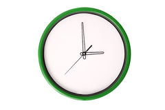 Empty clock serie - 3 o'clock. Stock Photography