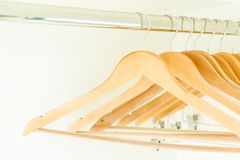 Empty clothes hanger Royalty Free Stock Images