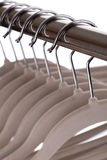 Empty clothes hangers Royalty Free Stock Photos