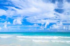 Empty coastal Caribbean landscape Royalty Free Stock Photos