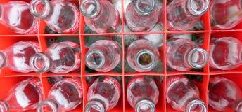 Empty Coca Cola bottles Stock Photography