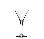 Empty cocktail glass. On white background Royalty Free Stock Photo