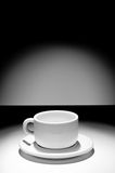 Empty coffe cup Royalty Free Stock Images