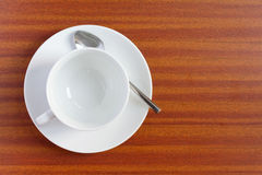 Free Empty Coffee Cup Royalty Free Stock Photo - 19219385