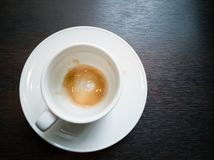 Empty coffee cup Stock Photography