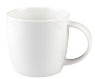 Empty coffee cup isolated Stock Image