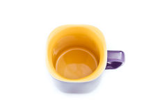 Empty coffee cup. Royalty Free Stock Photos