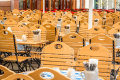 Empty coffee restaurant. In Berlin, Germany Royalty Free Stock Photography