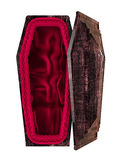 Empty coffin Royalty Free Stock Images