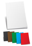 Empty color brochure Royalty Free Stock Image