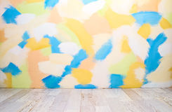 Empty color interior Stock Photography