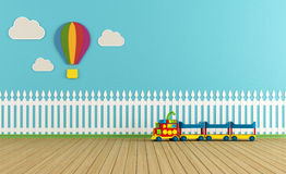 Empty colorful playroom Stock Images