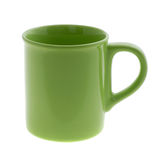 Empty colour cup Royalty Free Stock Photo