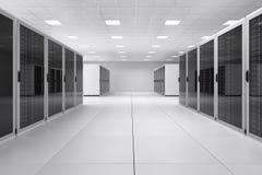 Empty Computer Center Stock Photos